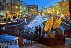 Санкт Петербург - Банков мост