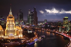 Нощна Москва