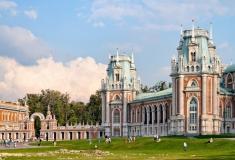 Двореца Царицино в Москва